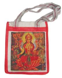 Bollywood Bag Indiase katoenen shopper - Lakshmi - 35 x 30 x cms