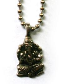 Ketting Ganesha 1.75 x 3.2 cm