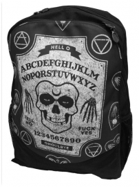 Darkside rugzak - Gothic Ghoul doodskop ouijabord