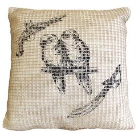 Papagaai netstyle kussenhoes
