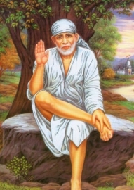 Briefkaart Sai Baba