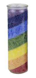 Grote regenboog chakrakaars
