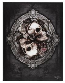 Alchemy England canvas wandbord - Dioscuri - 19 x 25 cm