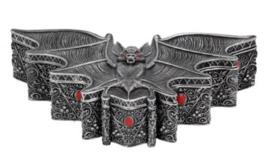 Carpe Noctem Vleermuis Sieradendoos - 17 cm breed
