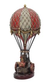 Balloonist - Steampunk beeld - 24.5 cm hoog