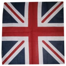 Bandana / wandkleed / tafelkleed Union Jack  - ca. 55 x 55 cm