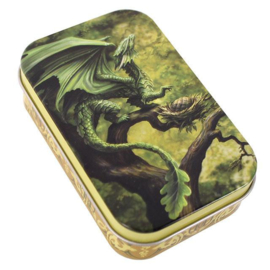 Blik Anne Stokes Forest Dragon - 10 x 6 x 2.5 cm