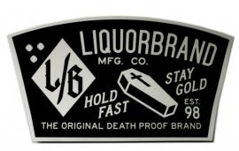 Sticker Liquor Brand - Magere Hein