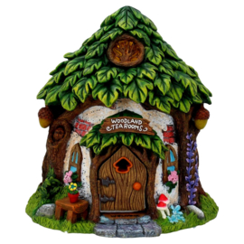 Woodland tea rooms - fee huisje - 21 cm hoog