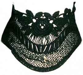 Lolita´s Lace - Gothic zwarte kanten choker
