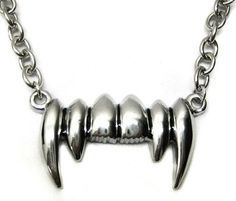 Restyle ketting Gothic Dracula Vampieren tanden