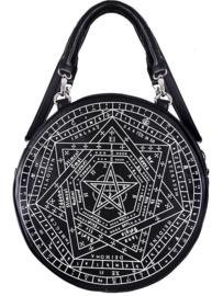 Restyle Wicca Occulte handtas Sigillum Dei - 30 cm doorsnee