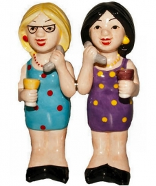 ´Phoney Friends´ - cruet set