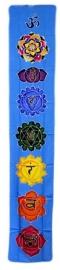 Chakrabanner Blauw 183 x 35 cm