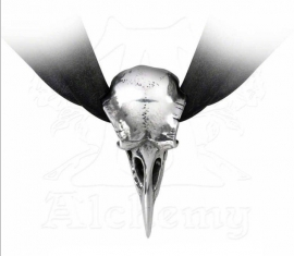 Alchemy Gothic design choker - Rabeschadel (ravenschedel)