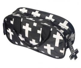 Toilettas omgekeerd kruis
