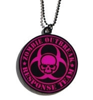 Darkside nekketting Zombie Response Team roze