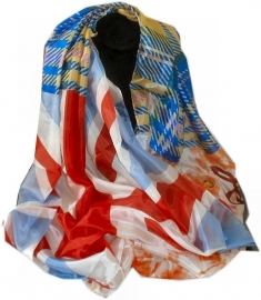 Sjaal Britse vlag 2