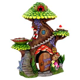Tree Top Spa House - feehuisje 25.5 cm hoog