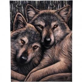 Loyal Companions - wandbord van Lisa Parker - 25 x 19 cm