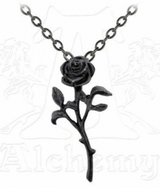 Alchemy Gothic ketting - The Romance of the Black Rose