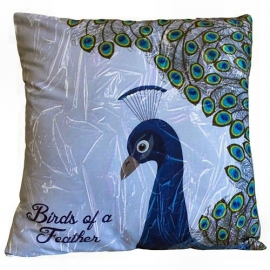 Cushion cover - peacock 2