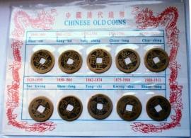 Feng Shui replica oude Chinese munten
