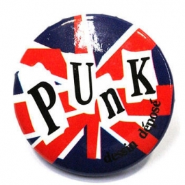 Retro button Punk 2