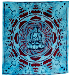 Bedspread Buddha turquoise 200 x 230 cm
