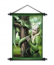 Kindred Spirits - Gothic muurscroll van Anne Stokes