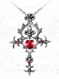 Alchemy Gothic Vampier nekketting - Renaissance Cross of Passion