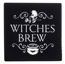 Alchemy of England keramieke onderzetter - Witches Brew  - 9.3 x 9.3 cm