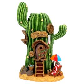 Cactus House - fee huisje - 25cm
