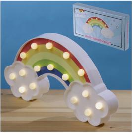 Mi Kawaii Regenboog Wolk LED Licht Decoratie 30 cm breed