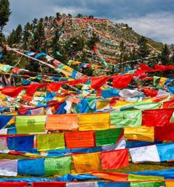 Gebedsvlaggen Tibetaans