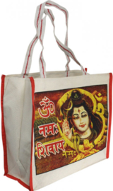 Bollywood Bag Indiase katoenen shopper - Shiva 2 - 35 x 40 x cms