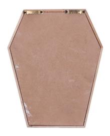 Life is Scary Doodskist Skelet Wandbord Gothic Huwelijkskado - 31.5 cm hoog