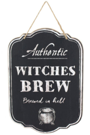 Wandplaat Witches Brew 21 x 36 cm