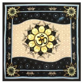Altaarkleed tafelkleed OHM lotus 90 x 90 cm