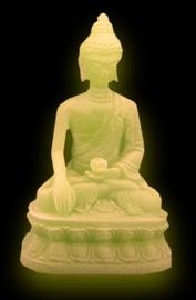 Thaise Boeddha 'glow in the dark' - 9 cm hoog
