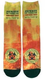 Darkside sokken - Zombie Outbreak Response Team - maat 36 - 46