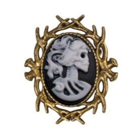 Fantasmagoria Witch Hunt brooch bronze