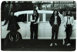 Blikken metalen wandbord Beatles 3 20 x 30 cm