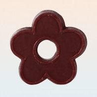 Bloemvormige wassen melt chocolade