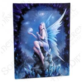 Star Gazer - wall plaque by Anne Stokes - 25 x 19 cm