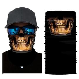 Masker Bandana Creepy Skull Reaper 9