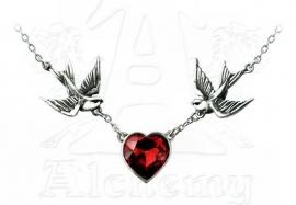 Alchemy UL 17 ketting - Swallow Heart