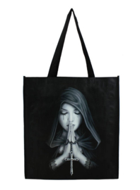 Shopper tas Anne Stokes Gothic Prayer