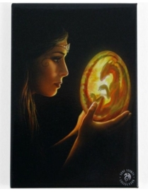 Beginnings  - wandbord van Anne Stokes - 25 x 19 cm