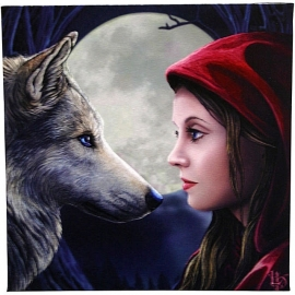 Moonstruck - wandbord Lisa Parker 28 x 28 cm